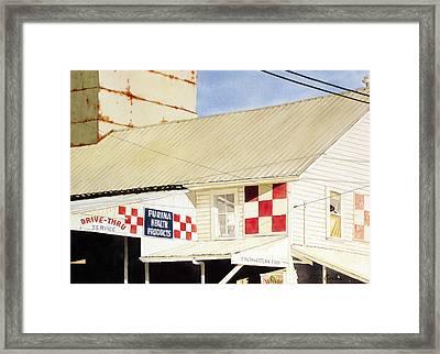 Southwestern Feed Framed Print by Jim Gerkin