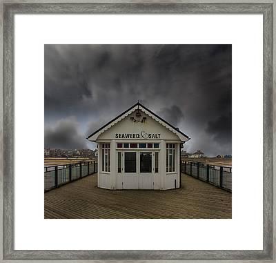 Southwold Pier Suffolk Framed Print by Martin Newman