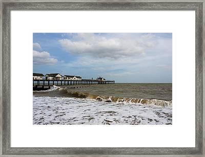 Southwold Pier Framed Print by Svetlana Sewell