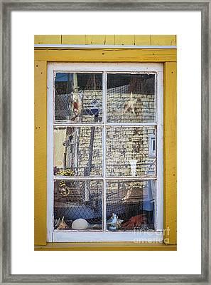 Souvenir Store Window Framed Print by Elena Elisseeva