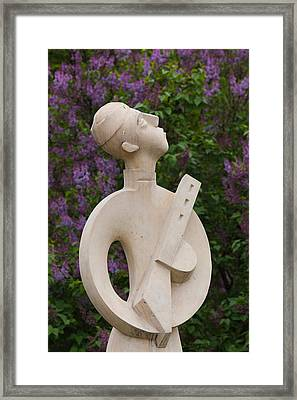 Soviet-era Sculpture At Art Muzeon Framed Print by Panoramic Images