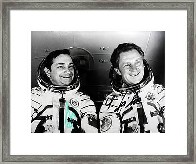 Soyuz 31 Crew Framed Print by Detlev Van Ravenswaay