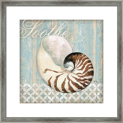 Spa Shells I Framed Print by Paul Brent