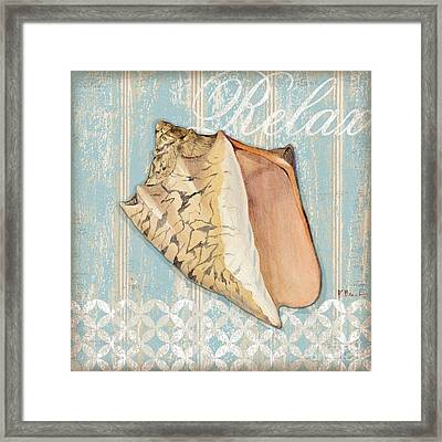 Spa Shells II Framed Print by Paul Brent