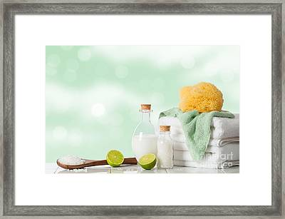 Spa Treatment Framed Print by Amanda And Christopher Elwell