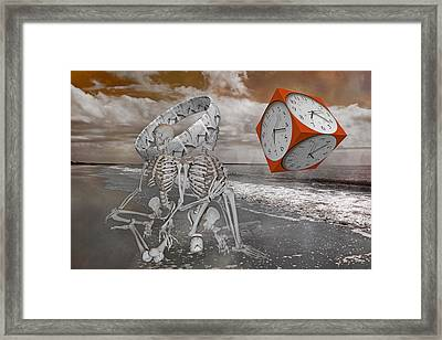 Space And Time Framed Print by Betsy Knapp
