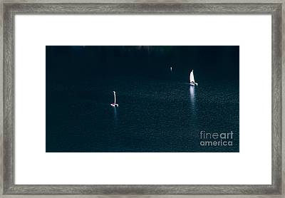 Space And Time Framed Print by Mitch Shindelbower