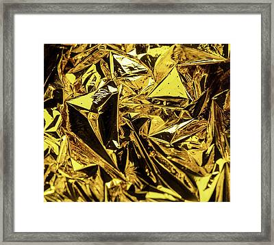 Space Blanket Framed Print by Ton Kinsbergen
