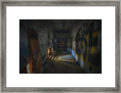 Space Bound Framed Print by Kenny Noddin