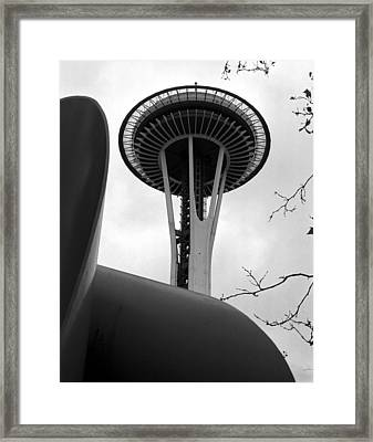Space Needle Framed Print by Kirt Tisdale