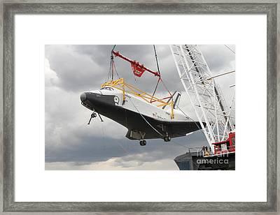 Space Shuttle Enterprise Framed Print by Steven Spak