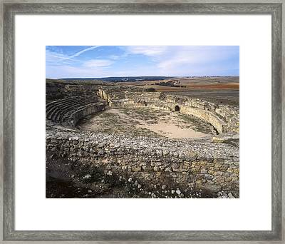 Spain. Castile-la Mancha. Cuenca Framed Print by Everett