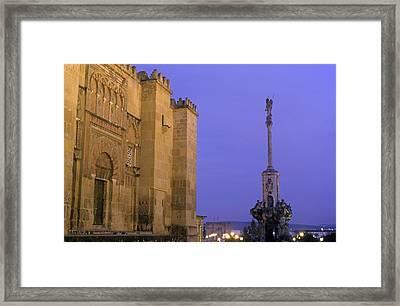 Spain. Cordoba. Mezquita Mosque. At Framed Print by Everett