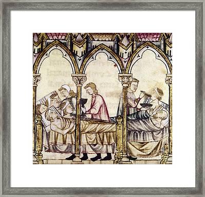 Spain: Medieval Hospital Framed Print by Granger