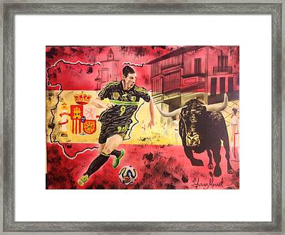 Spain Framed Print by Shawn Morrel