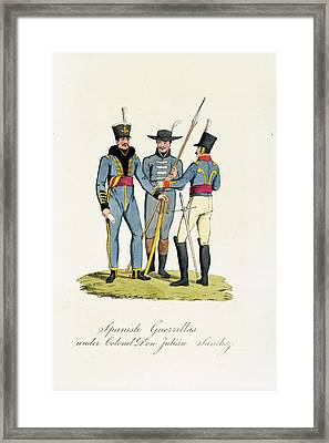 Spanish Guerrillas Framed Print by British Library