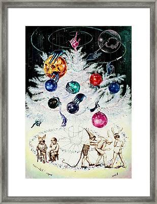 Sparkles And Spangles Framed Print by Nekoda  Singer