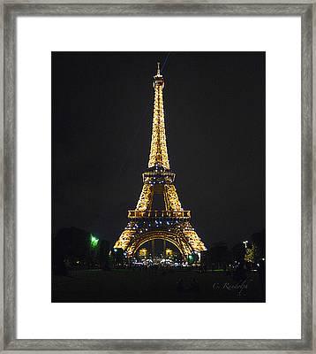 Sparkles Framed Print by Cheri Randolph