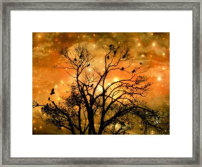 Sparkling Framed Print by Gothicrow Images