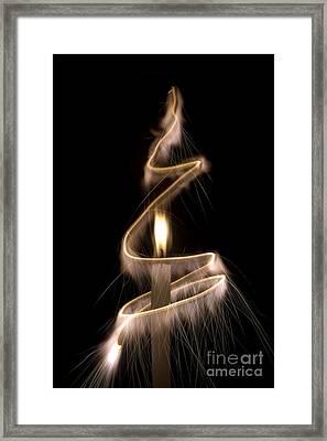 Sparkling Light Framed Print by Tim Gainey