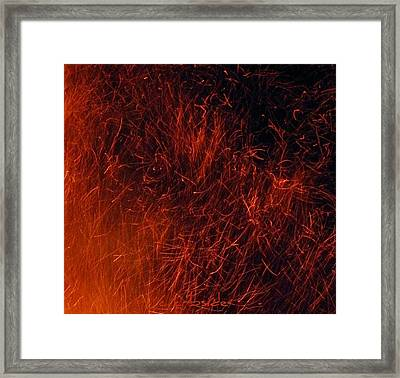 Sparks Framed Print by Chris Berry