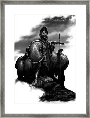 Spartans Framed Print by Matt Kedzierski