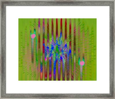 Spatial Framed Print by  Fli Art