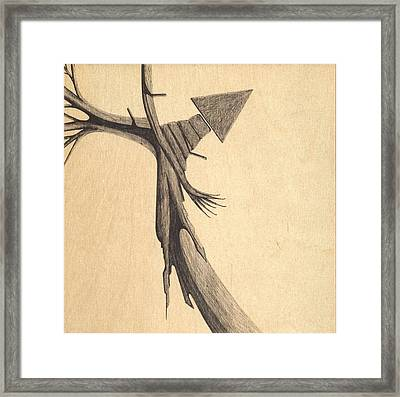 Spatial Separation Of The Worlds Framed Print by Giuseppe Epifani