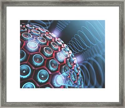 Speakers Framed Print by Ktsdesign