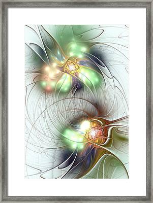 Special Bond Framed Print by Anastasiya Malakhova