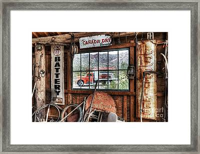 Special Delivery Framed Print by Eddie Yerkish