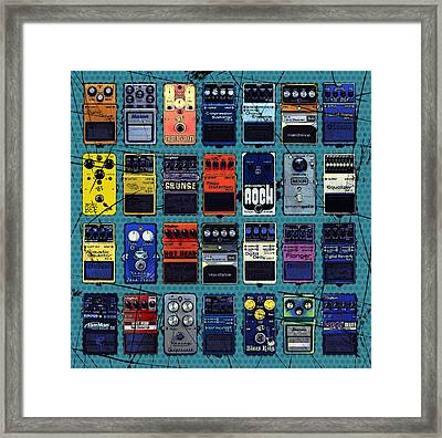 Special Effects Framed Print by Russell Pierce