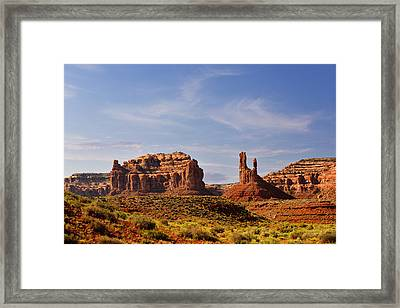 Spectacular Valley Of The Gods Framed Print by Christine Till