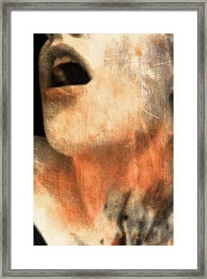 Speechless Framed Print by Samantha Radermacher