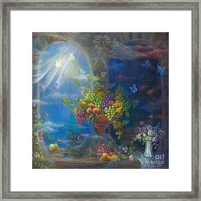 Spells Framed Print by Vladimir Nazarov