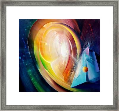Sphere B11 Framed Print by Drazen Pavlovic