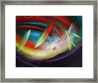 Sphere B12 Framed Print by Drazen Pavlovic