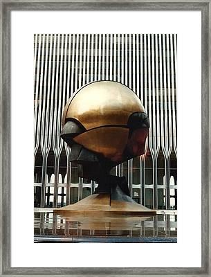 Sphere Framed Print by Bruce Lennon