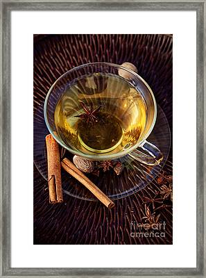 Spiced Tea Framed Print by Mythja  Photography