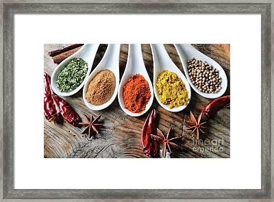 Spices Framed Print by Jelena Jovanovic