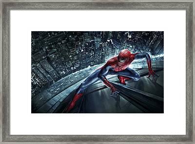 Spider Man 210 Framed Print by Movie Poster Prints