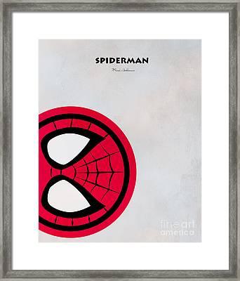 Spiderman 6 Framed Print by Mark Ashkenazi