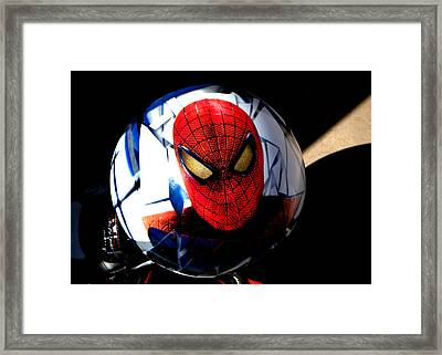 Spiderman Framed Print by Bruce Iorio