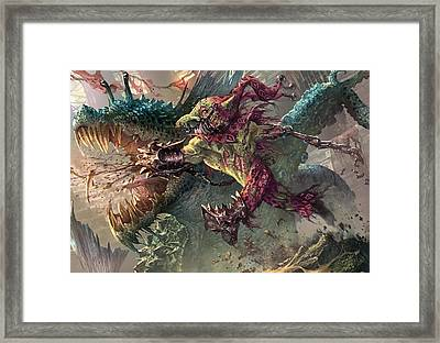 Spike Jester Framed Print by Ryan Barger
