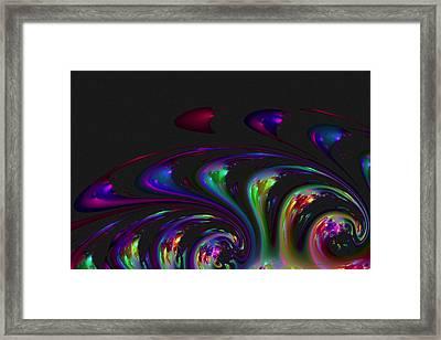 Spin Off Framed Print by Judi Suni Hall