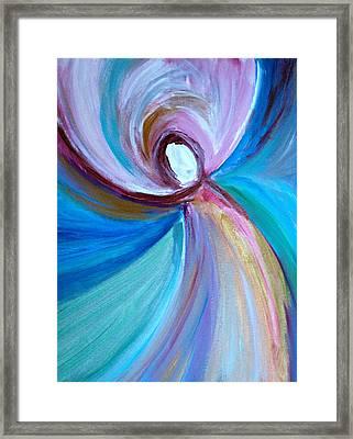 Spinning Light  Framed Print by Alma Yamazaki