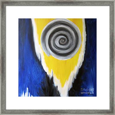 Spiral Framed Print by Eva-Maria Becker
