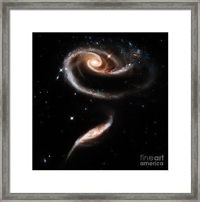 Spiral Galaxies Framed Print by Stephanie Frey