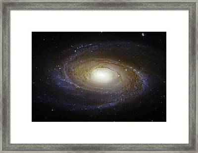 Spiral Galaxy M81 Framed Print by The  Vault - Jennifer Rondinelli Reilly