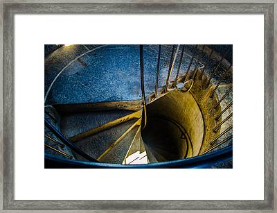 Spiral Into The Light Framed Print by Jeff Ortakales